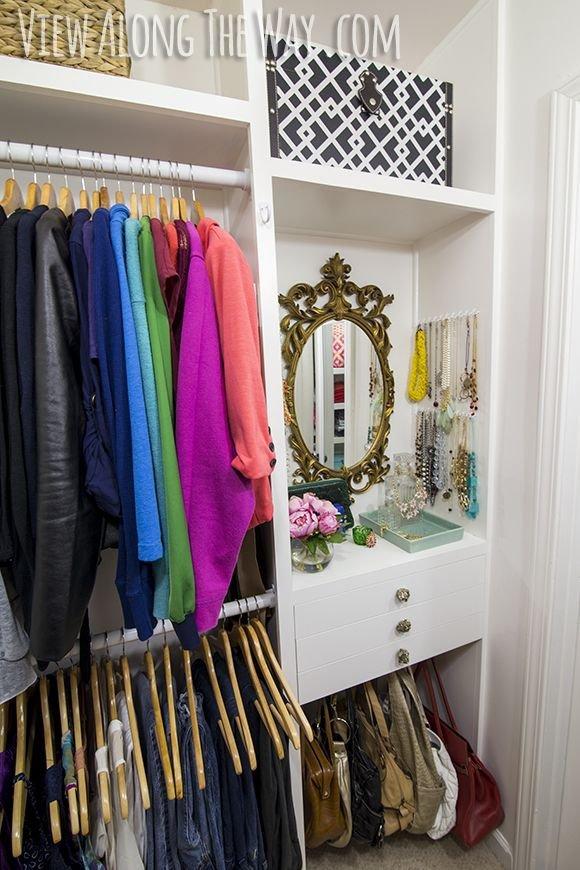 Stunning Closet Makeover