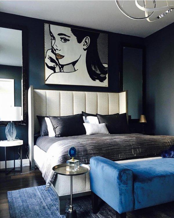 blue, room, wall, interior design, ceiling,