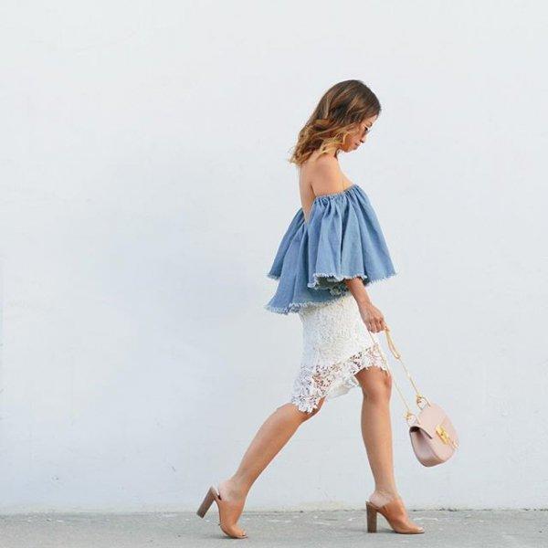 clothing, white, denim, footwear, spring,
