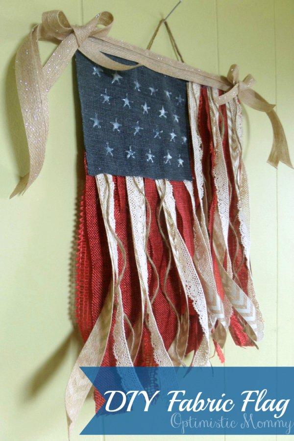 DIY Fabric Flag