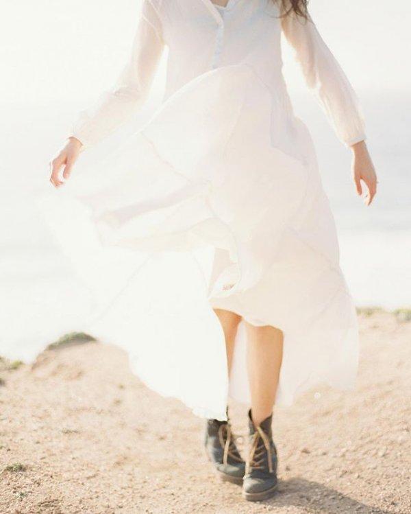 clothing, white, footwear, fashion accessory, wedding dress,