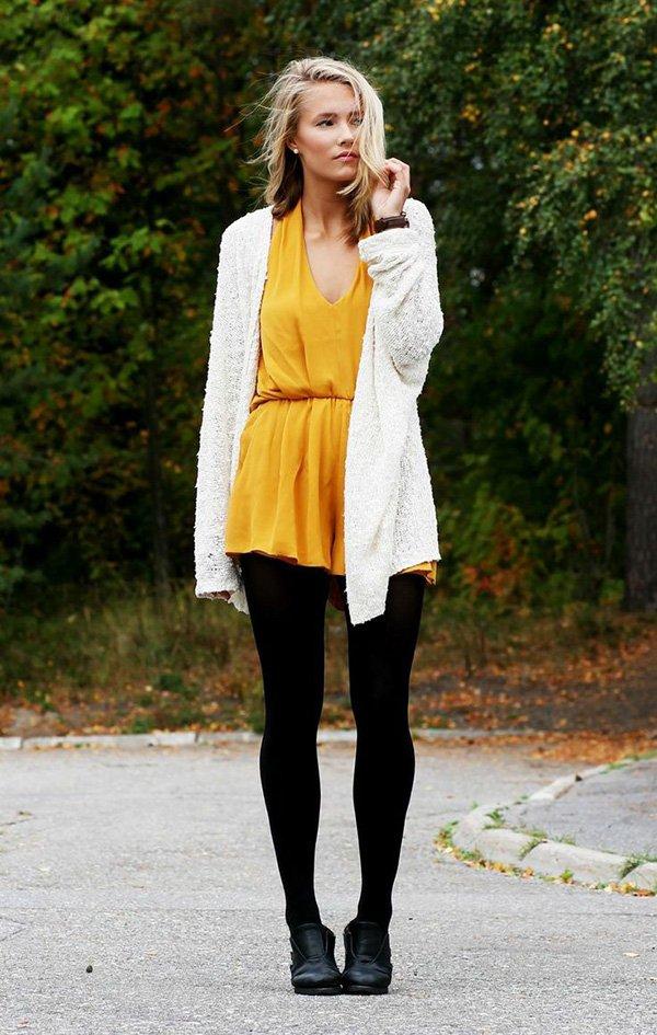 Wear Leggings when It's Cold out