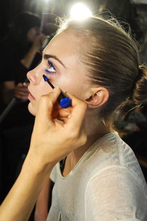 Mascara and Liner