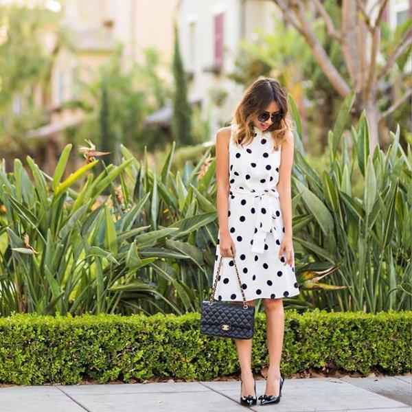 clothing, pattern, polka dot, footwear, spring,