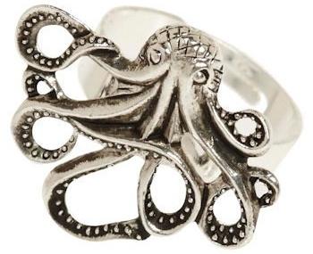 My Pet Octopus Ring