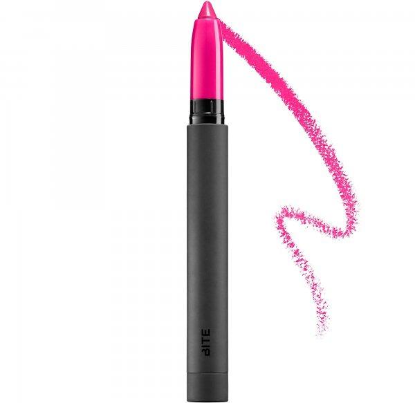 Bite Beauty Matte Crème Lip Crayon in Pink Lady