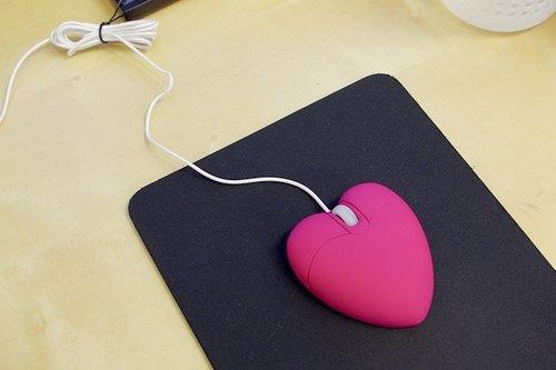 Heart-shaped Mouse