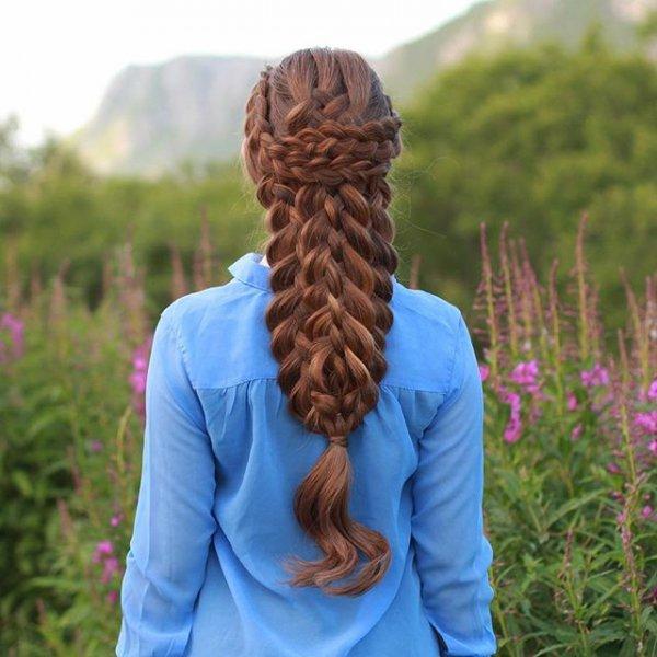 hair, hairstyle, long hair, hand, headgear,