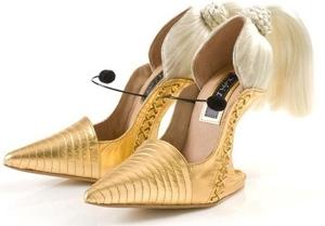 "Kobi Levi ""Blonde Ambition"" Shoes"