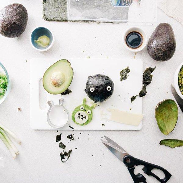 green, leaf, produce, ceramic, food,