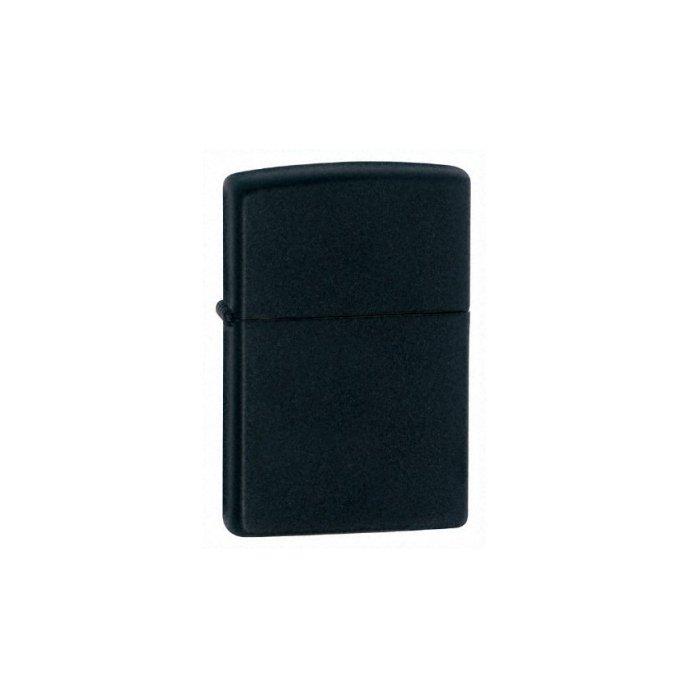 Zippo Regular Lighter, Black Matte