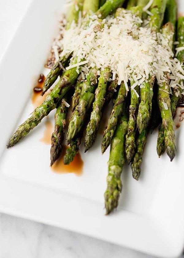 Cheesy Roasted Asparagus