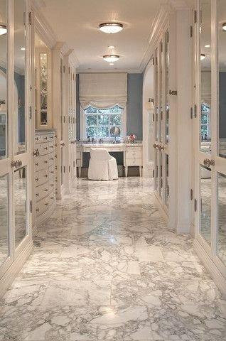 Glamorous Marble Dream Closet