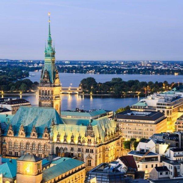 Hamburg, landmark, town, tourism, cityscape,