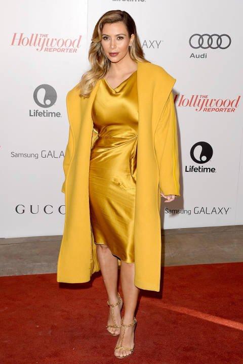 Hollywood Reporter,flooring,yellow,red carpet,dress,