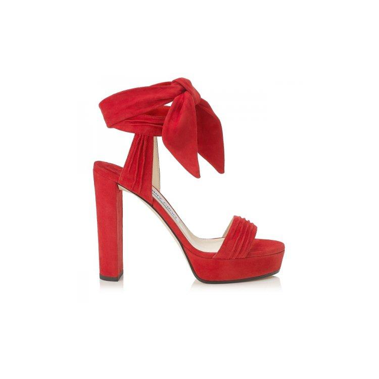footwear, high heeled footwear, red, shoe, leather,