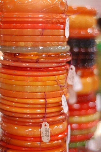 Orange Bangles