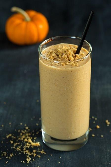 Pumpkin Pie Protein Smoothie