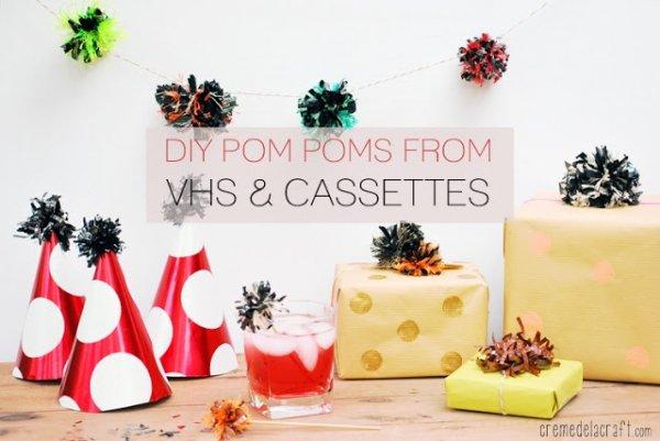 Pom Pom Party Decor