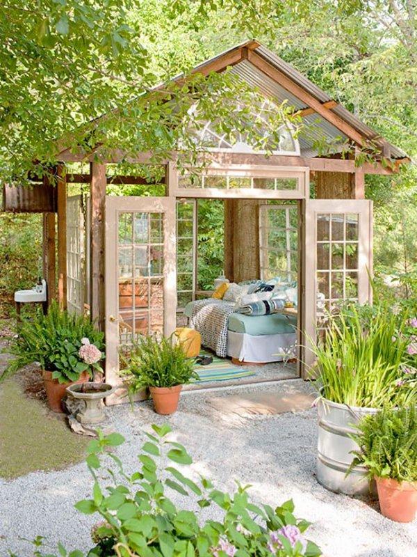 backyard,greenhouse,yard,outdoor structure,garden,