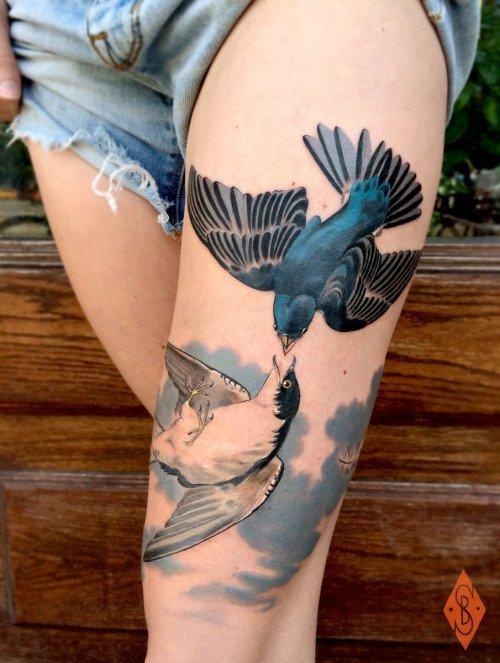 These Beautiful Birds