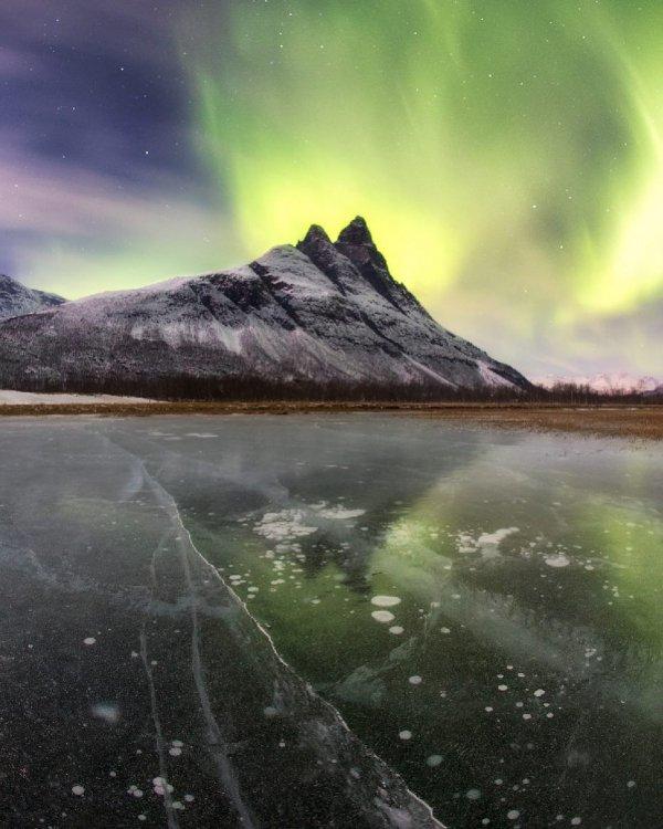 nature, atmosphere, sky, water, aurora,