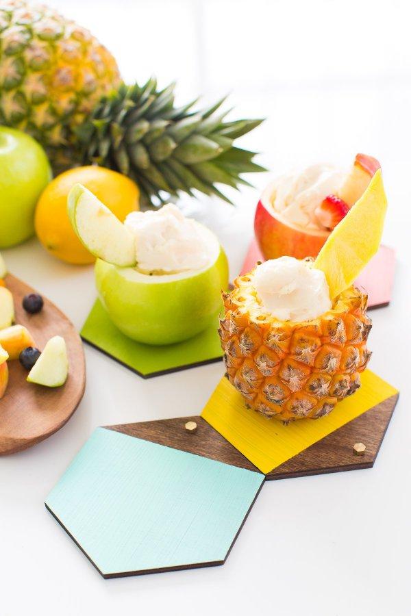 food, produce, plant, fruit, pineapple,