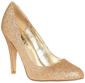 Modcloth Sparkle Heels