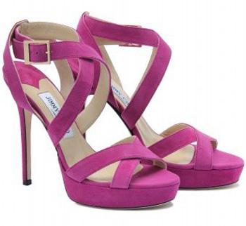 'Vamp' Suede Sandals
