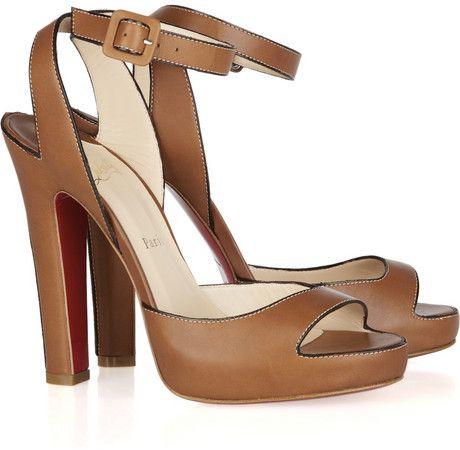 Christian Louboutin Leather Sandals XJnmQV