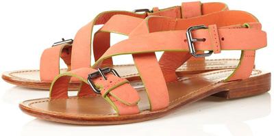 Topshop Florida Simple Buckle Sandals