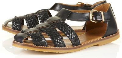Topshop Kage Woven Strap Shoes