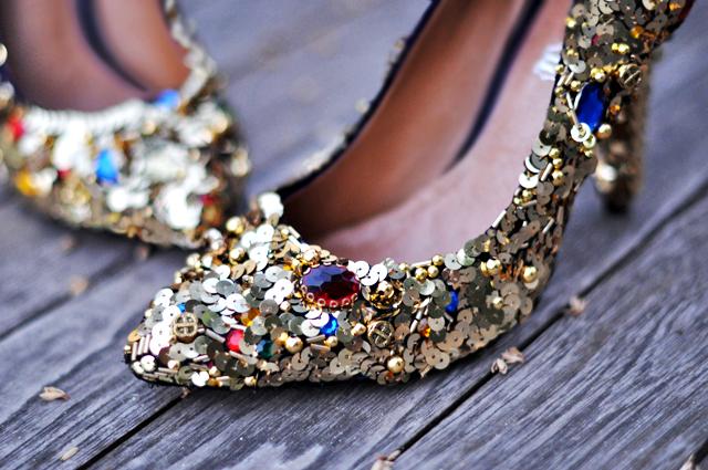 Glittery D&G-Inspired
