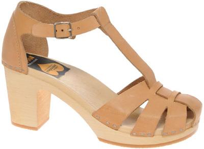 Swedish Hasbeens Duck Toe Sandals