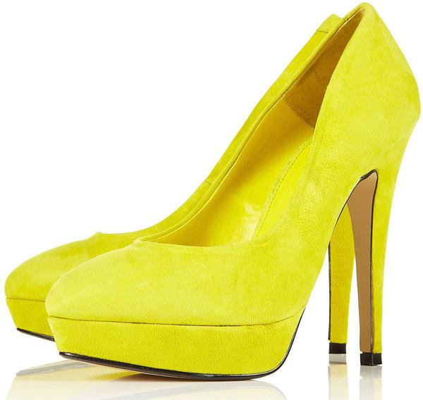 Stare2 Platform Neon Shoes