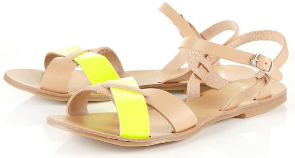 Hunt Cross-over Fluro Sandals