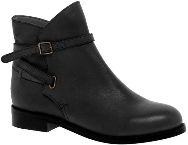 Altitude Leather Jodhpur Ankle Boots