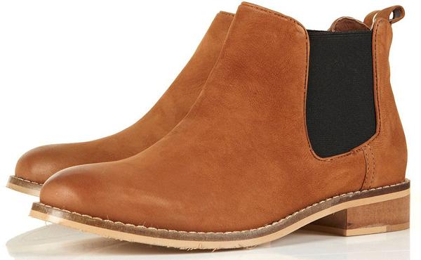April Nubuck Chelsea Boots