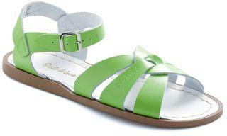 Saltwater Sandals Lime Sandal