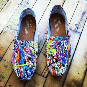 I Spy DIY Shoe Inspiration