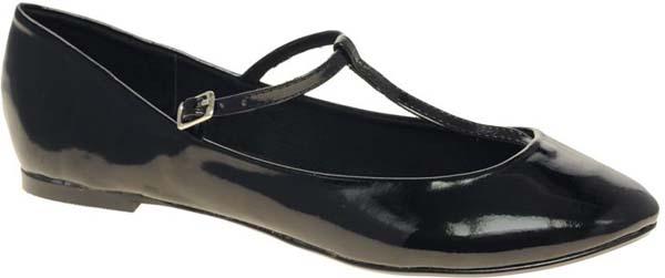 Patent T-strap Shoes
