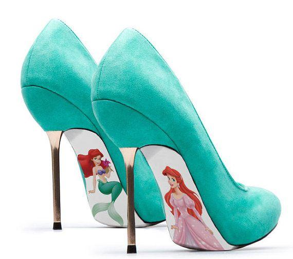 171dbf65ffafc 7 'Little Mermaid' Inspired Shoes ...