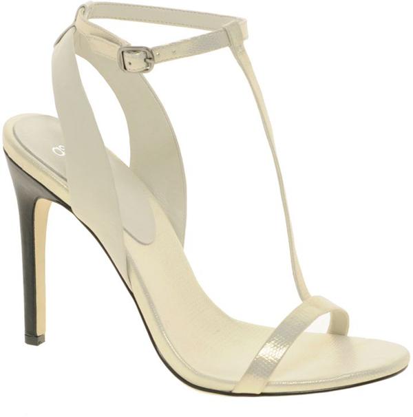 Thin T-Strap Heels