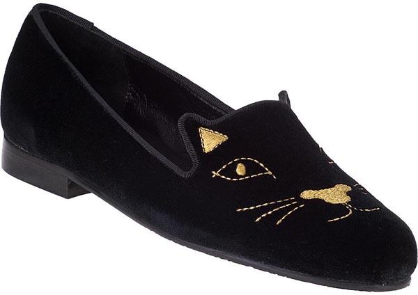 Jon Josef G-Cat Loafer Black Velvet