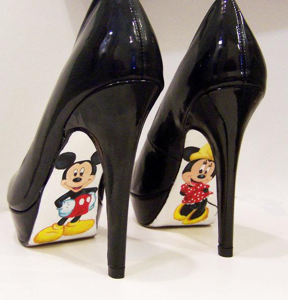 Mickey & Minnie Pumps