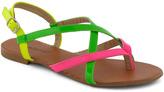 Neon Your Way Sandal