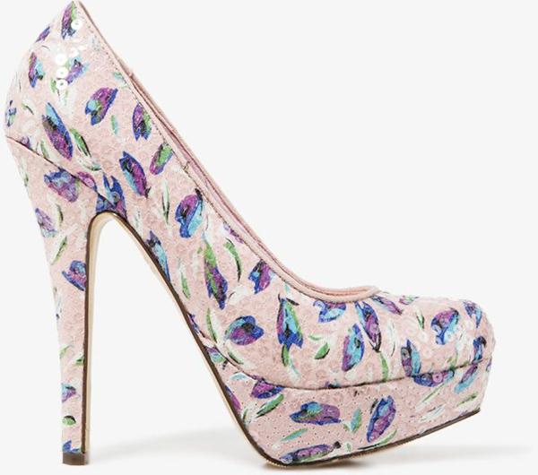 60 Gorgeous Floral Patterned Heels For Spring Shoes Fascinating Patterned Heels