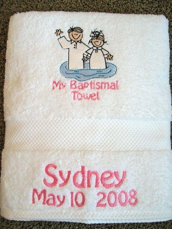 Baptismal Towel