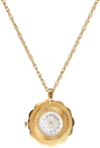 Criterion Watch Pendant Necklace