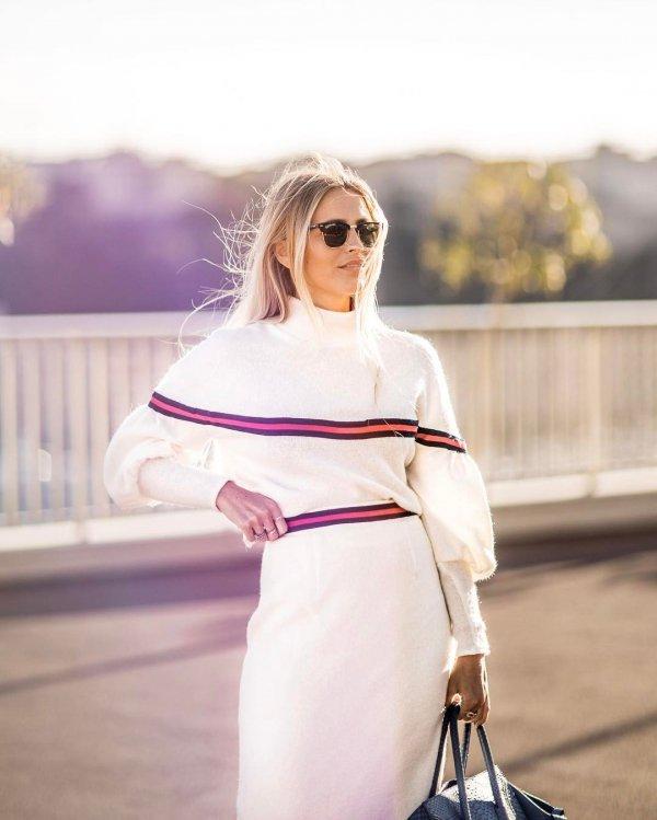 white, clothing, pink, sleeve, dress,